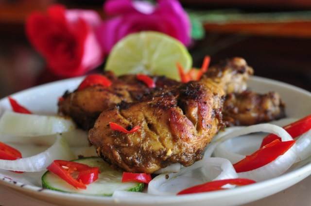 Grilled Coconut Chicken
