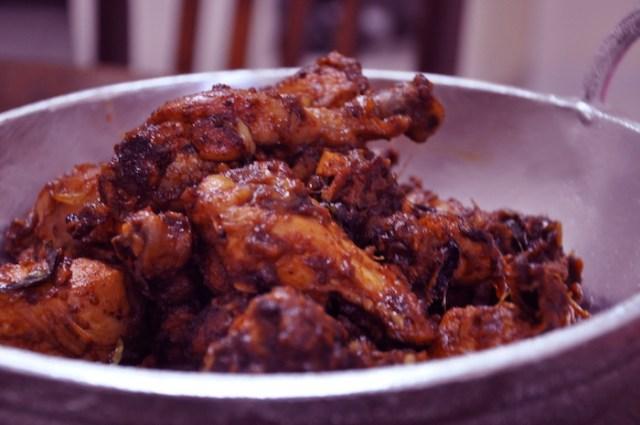 Kerala Chicken Roast
