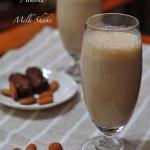 Frosty Date & Almond Shake