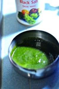 green chutney for tandoori chicken recipe
