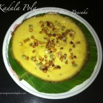 Kadala Pola (Sweet Split Chick Peas Pancake)