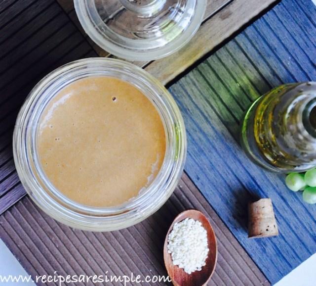 How to Make Tahini Recipe