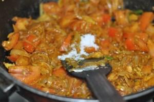 KERALA egg roast - add salt