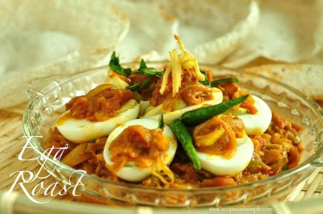 Egg Roast Kerala