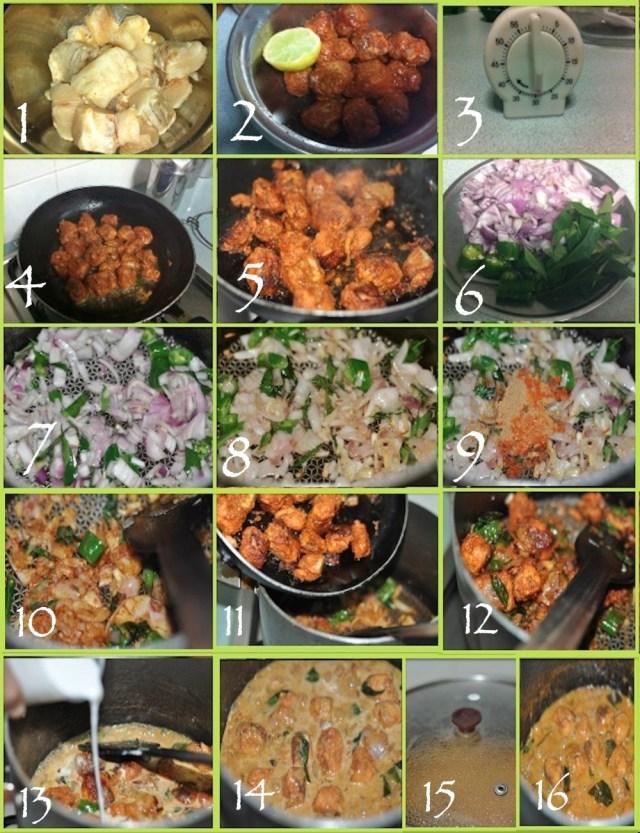 Malabar Fish Curry - steps