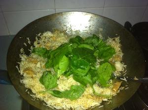 Tom Yum Fried Rice Make 4