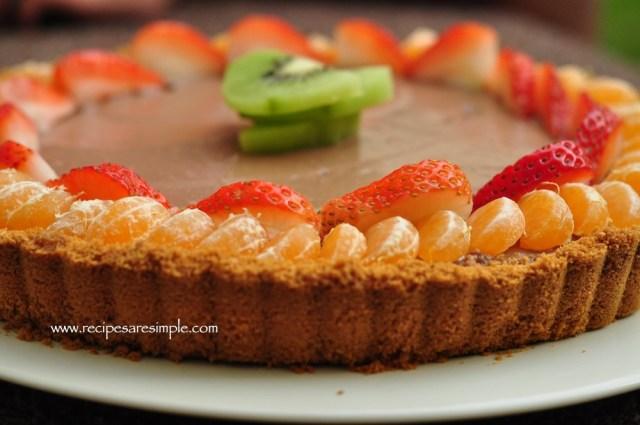 Chocolate Tofu Pie - Chocolate Mousse Pie