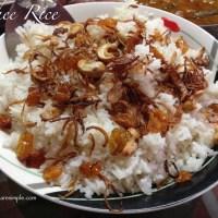 Ney Choru Ghee Rice