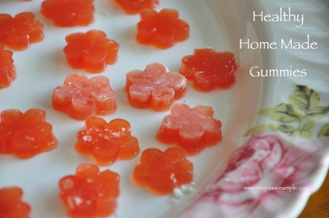home made gummies