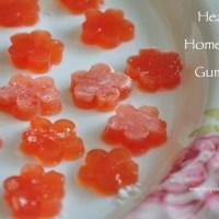 home made gummies