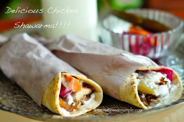 Tastiest Chicken Shawarma Recipe Ever!