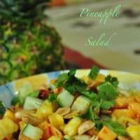 chili ginger pineapple salad