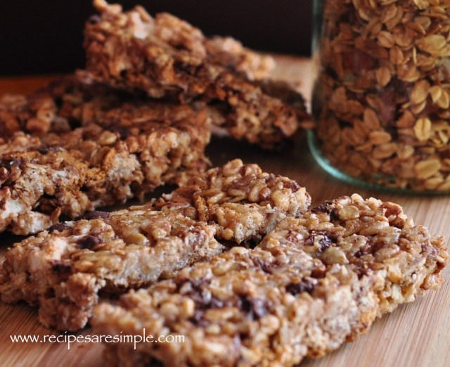 S'mores Granola bars just like quakers