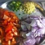 ingredients for kerala style prawn roast