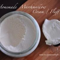 marshmallow fluff marshmallow cream