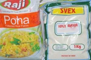 soft idli recipe -Poha/ aval and Idli rave
