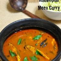 Kudampluli fish curry