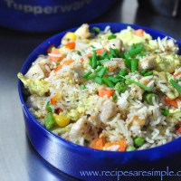 lunch box chicken fried rice recipe