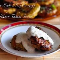 baked beef kebabs