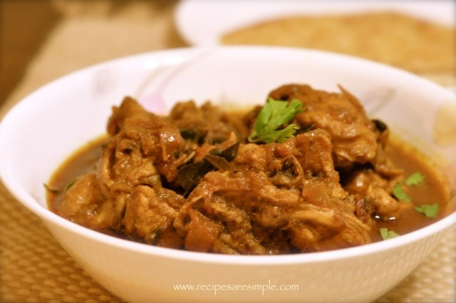 Brown Onion Chicken Curry recipe
