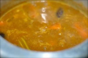 sambar recipe - Kerala varutharacha sambar simmer