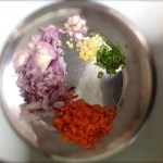 ingredients for Samba Wheat Rava Upma