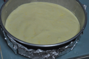pour into prepared tin
