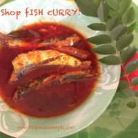Nadan Mathi Curry - Spicy Tea Shop Sardine Curry recipe