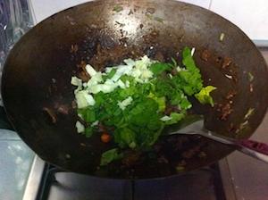 chye sim beef fried rice