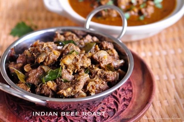 indian beef roast