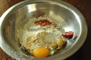 batter ingredients for western chicken chops
