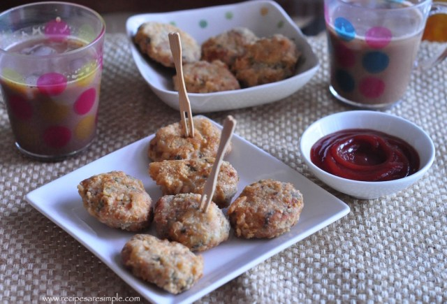 home made chicken nuggets recipe