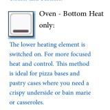 oven symbols