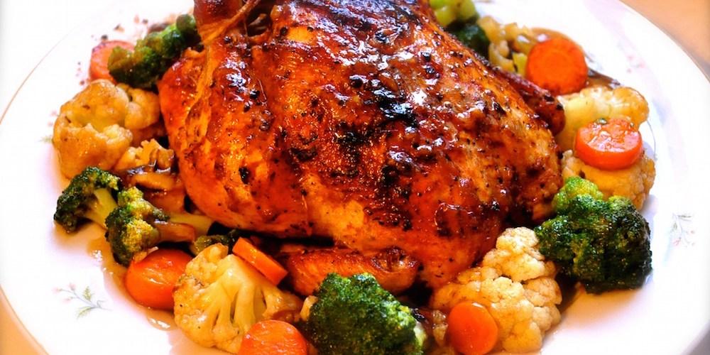 roasted black pepper chicken recipe