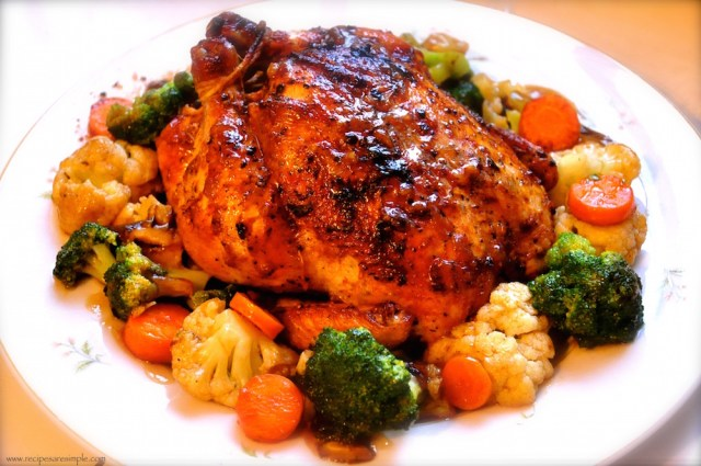 roasted black pepper chicken recipe