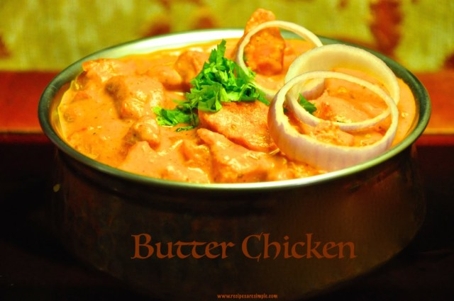 Easy Butter Chicken with Nestle Cream recipe