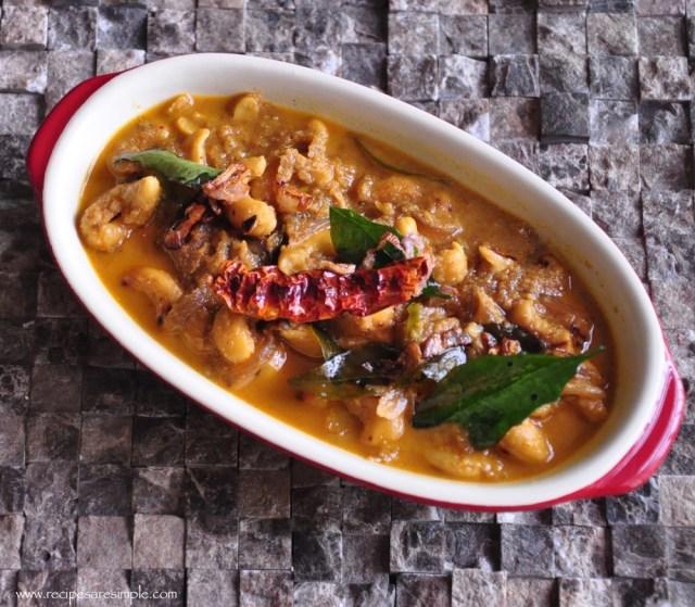 cashew curry raw