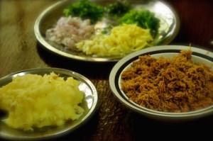 kerala beef cutlet. ingredients