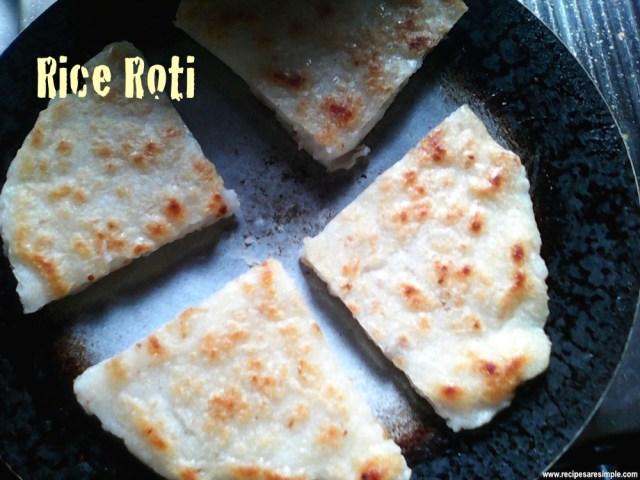 rice flour roti