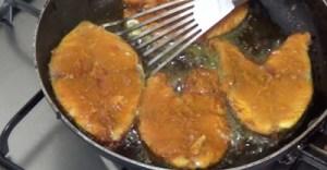 malabar fish biryani - fry fish