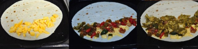 palak chicken quesadilla 5