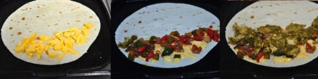 palak chicken quesadilla 5
