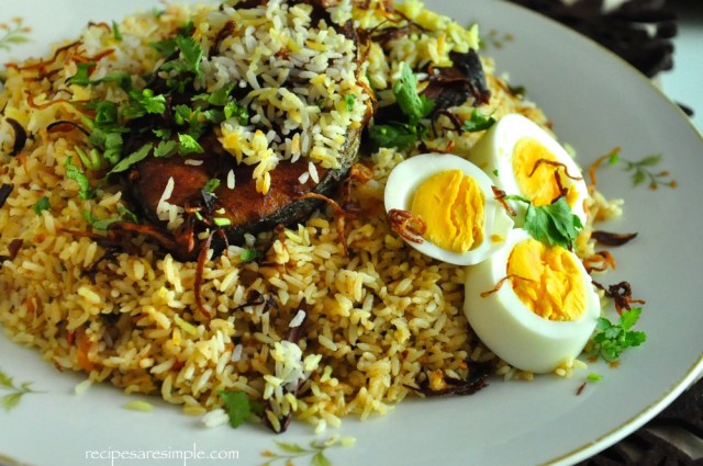 recipe for malabar fish biryani