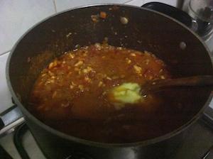 chicken cutlet spaghetti- add butter