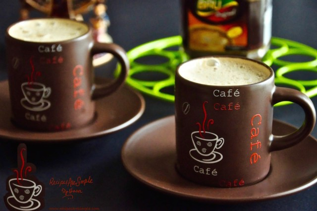 bru coffee recipe - how to make bru coffee
