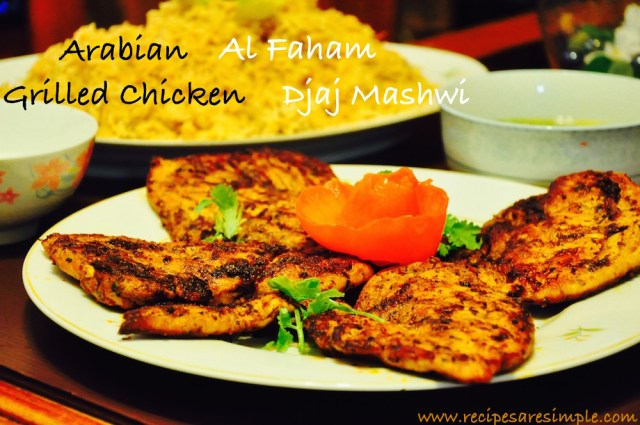 arabian grilled chicken