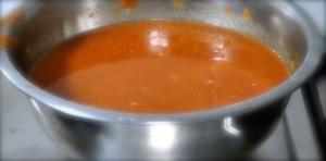 Murgh Makhani tomato sauce