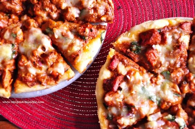 butter chicken pizza recipe