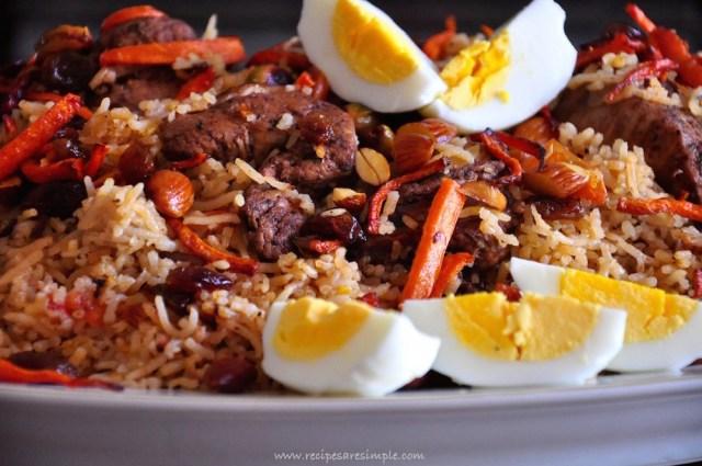 Ruz Bukhari Arabian Rice Recipe