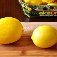 Meyer Lemons vs Regular Lemons 1